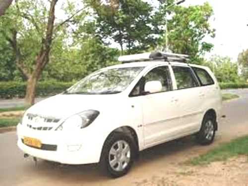 Hire car in India