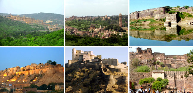 Six Rajasthan forts in World Heritage List